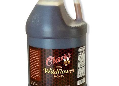 1 CASE WILDFLOWER HONEY GALLONS