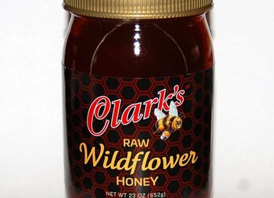 23 oz. WILDFLOWER HONEY Jar 1-CASE