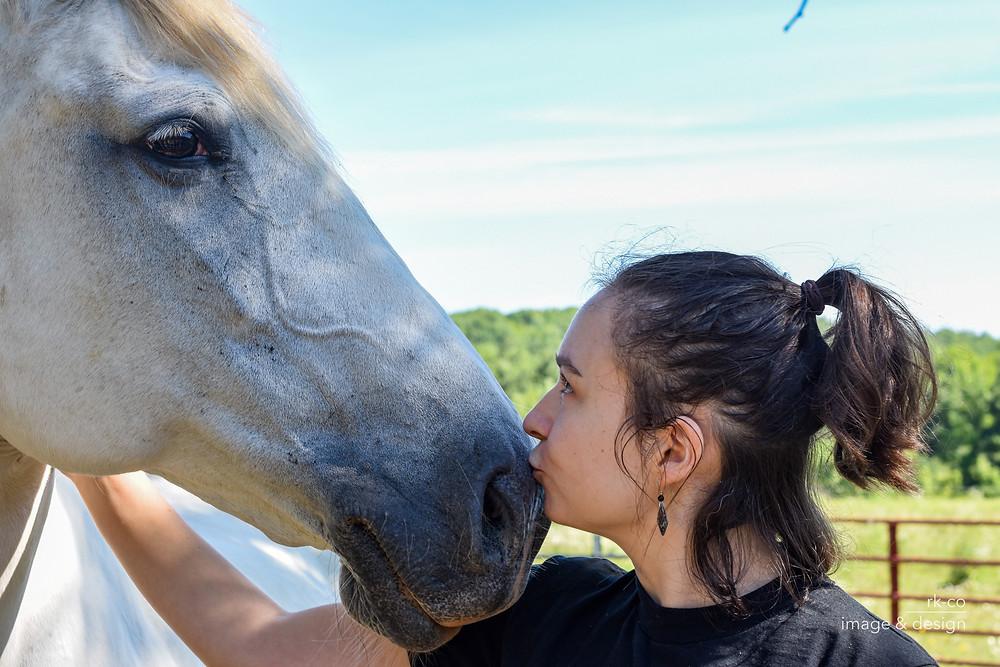 Equus dancer Kat Reese and Horse