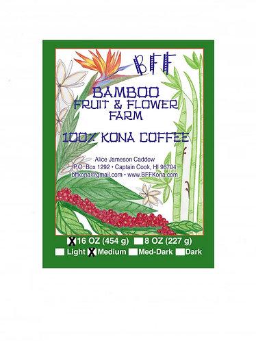 16 oz. (454 g.) Medium Roast Coffee
