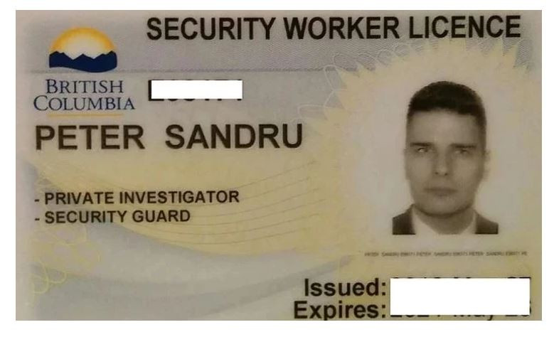 BC security guard license