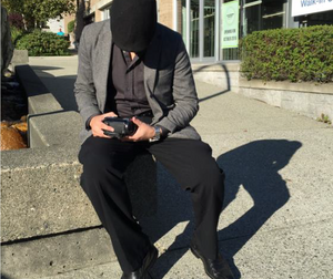Investigator performing surveillance