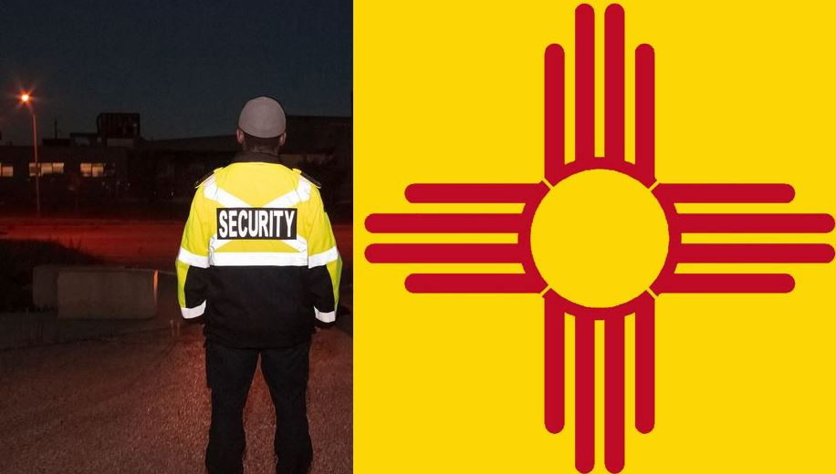 New Mexico security guard license