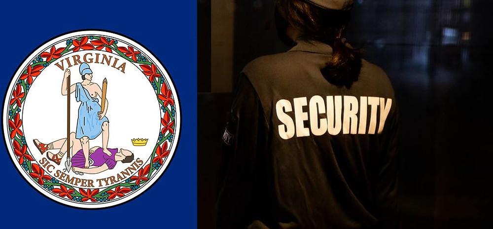 VA security guard license