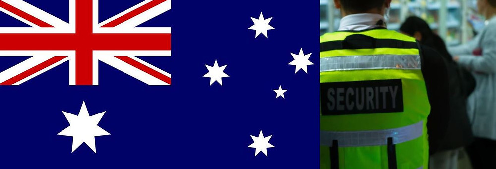 How to be a security guard in Australia
