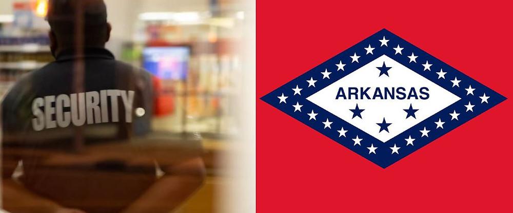 ARKANSAS security license