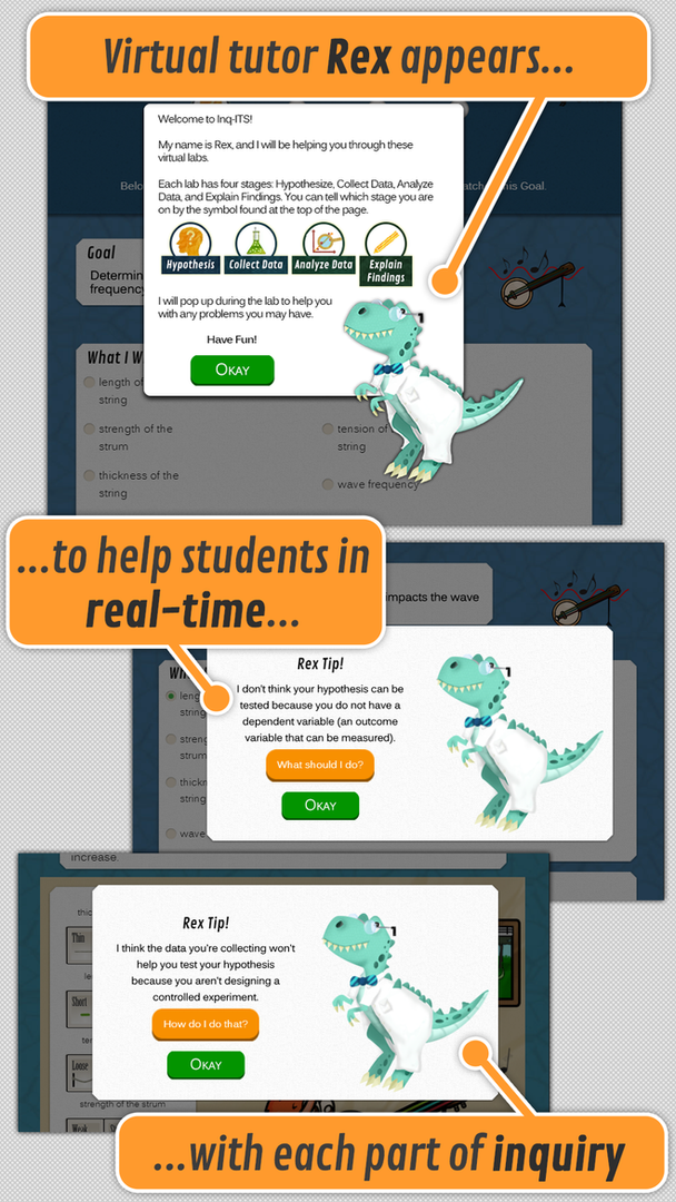Rex, the Virtual Tutor