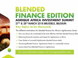 Agrique Africa Investment Summit