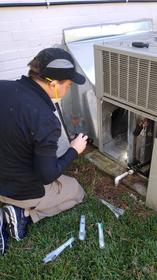 AC unit mold inspection