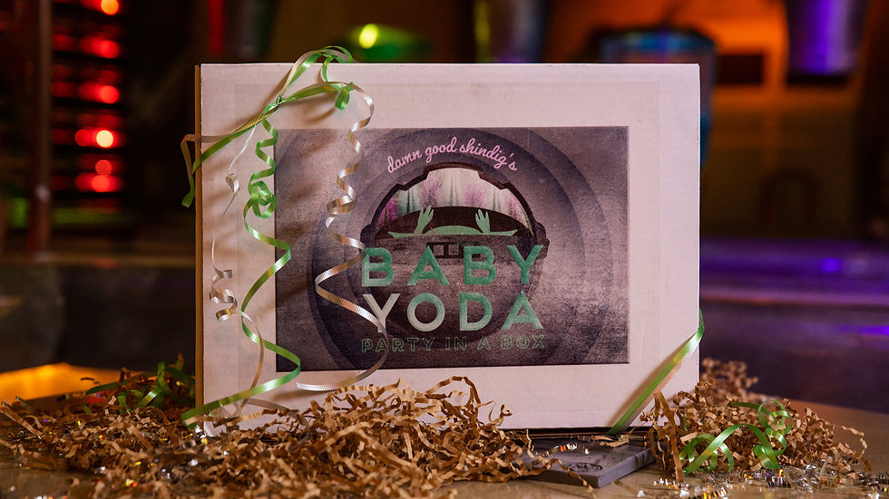Baby Yoda - Party In a Box for Two