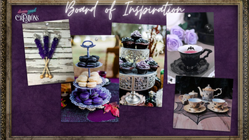 Themed Refreshments - Witches' Tea Party