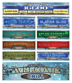 Experience Entrance Signs