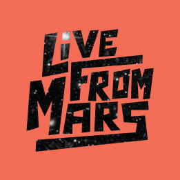 Live From Mars logo