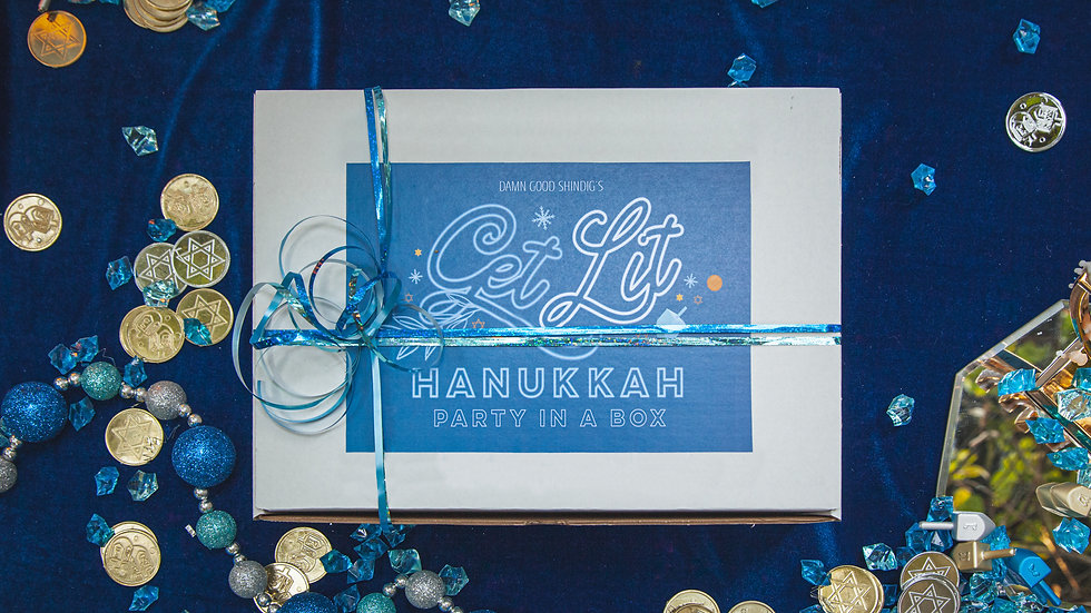 Get Lit - Hanukkah Party in a Box