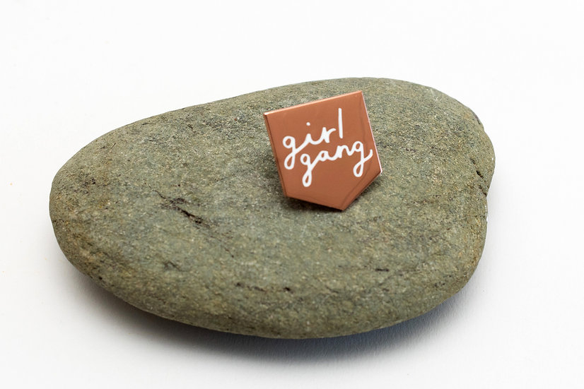 'Girl Gang'Pin