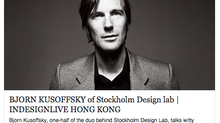 "Interview with Bjorn Kusoffsky, CEO & Creative Director of Stockholm Design Lab: ""Scandinav"
