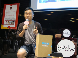Last Saturday's BODW lead-up seminar: How a simple pen jump-started a company's sales and up-market