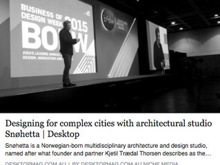 Interview with Kjetil Trædal Thorsen, Partner, Founder & Architect, Snøhetta