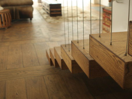 Step it Up: French Oak Staircase Designs That Add Impact