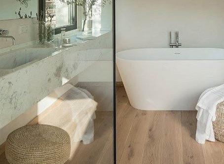 Can I Install Hardwood Floors In The Bathroom?