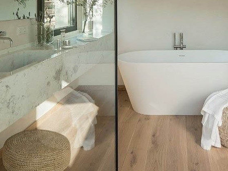Can I Install Hardwood Floors In The Bathroom?