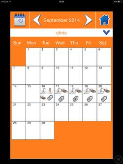 Calendar (Chris)