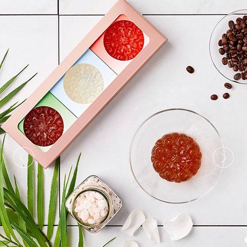 3個セット『SILVIO シルヴィオクレンジングバー』植物性透明石鹸
