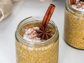 Pumpkin Spice Protein Chia Pudding
