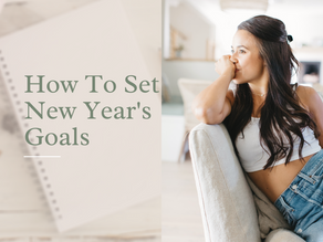 How To Set New Year's Goals