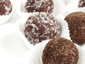 Chocolate Peppermint Truffles