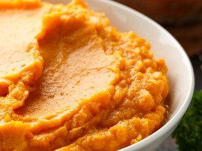 Mashed Sweet Potatoes in under 10 minutes