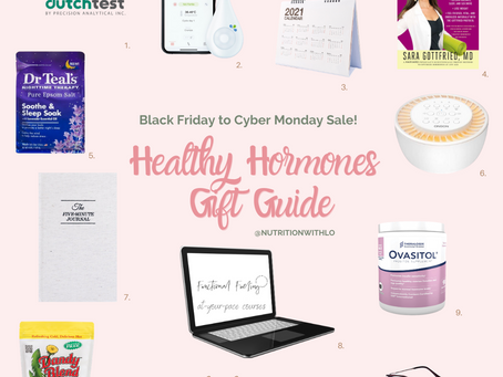 2020 Healthy Hormones Gift Guide!