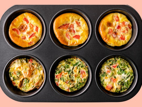 On The Go Breakfast! Egg Muffins