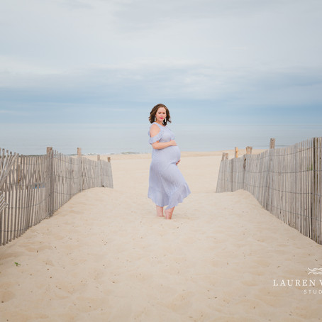 Rehoboth Beach Maternity Session | Severna Park Photographer