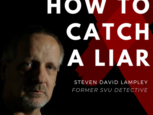 """""""How to Catch a Liar"""": CrimeCon: On The Run 2019"""