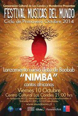 Flyer Lanzamiento NIMBA Octubre 2014
