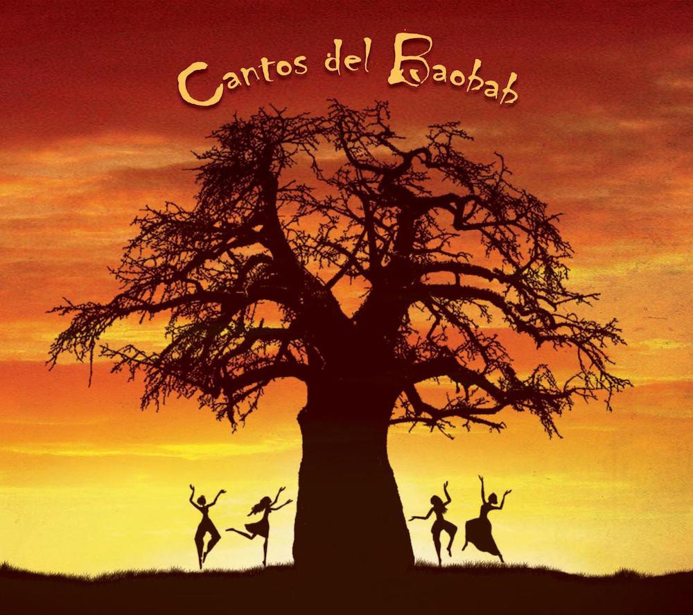 """Caratula CD """"Cantos del Baobab"""""""