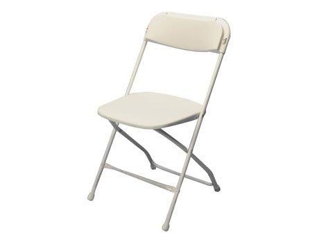 Folding Chair, Samsonsite White