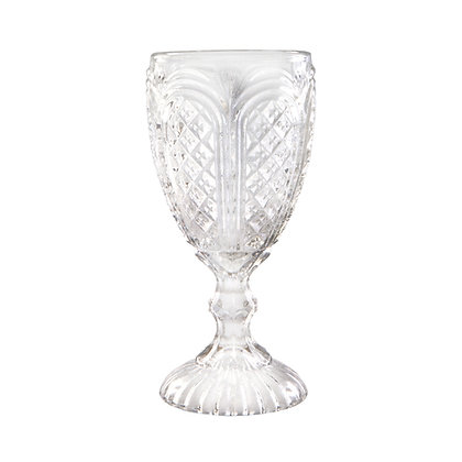 Goblet, Carousel Clear