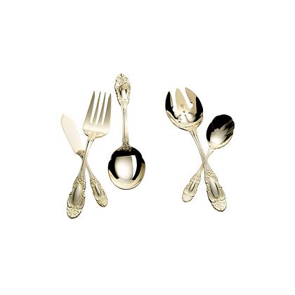Duchess, Gold Servingware (Prices in Description)