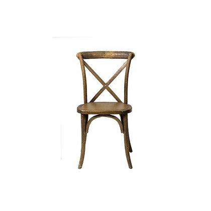 Chair, Rustic Crossback $8.00 each