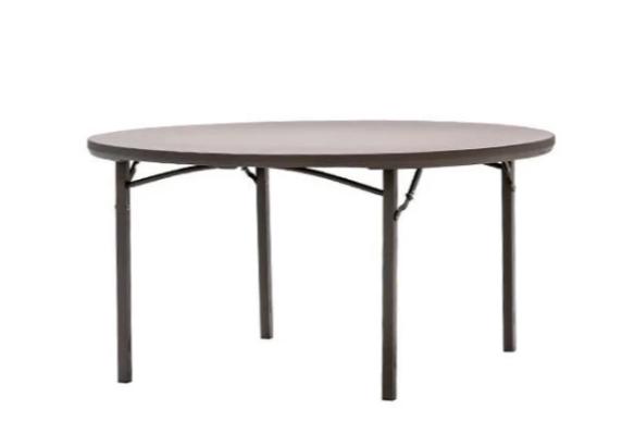 """Table, 5' Round Plastic (60"""" diameter) $11.00"""