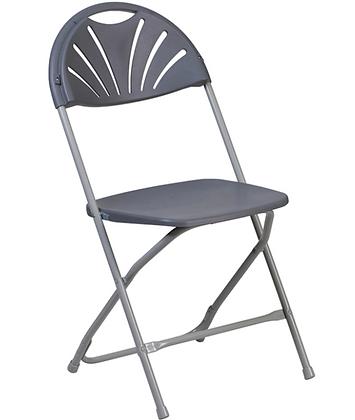 Folding Chair, Dark Grey