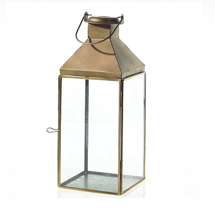 "Lantern, Founder Gold, 5.5""x14"", $6.40 each"