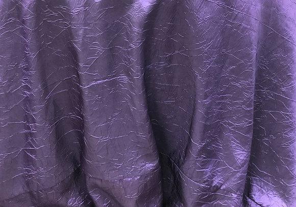 Crushed Taffeta, Eggplant Purple $17 each