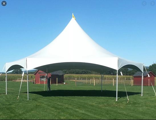 40' Hexagon Tent, $1000 each