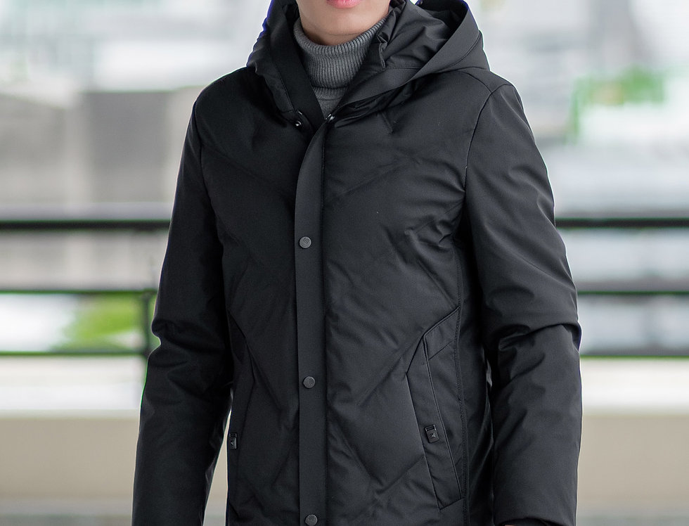 เสื้อขนเป็ดยาว ชาย รุ่น LANDMARK | DJASHBK