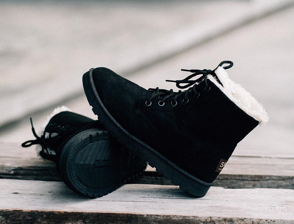 เช่ารองเท้าบูท หญิง รุ่น SNOWFLAKE (SL2)   SHAIBBK