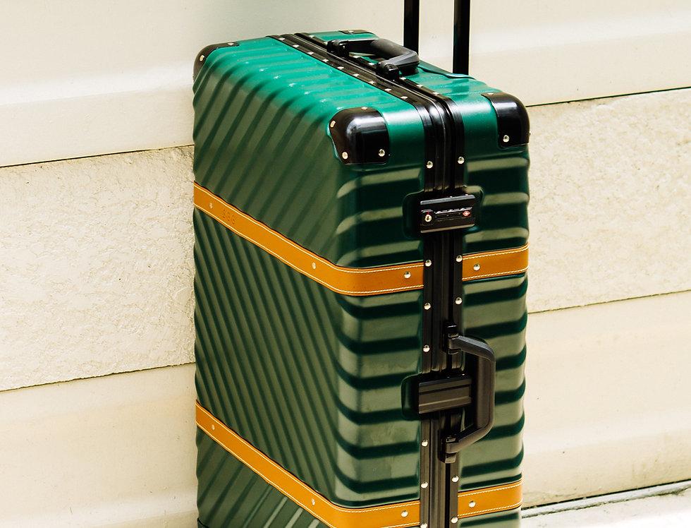 เช่ากระเป๋าเดินทาง รุ่น Retro 26 นิ้ว สีเขียว