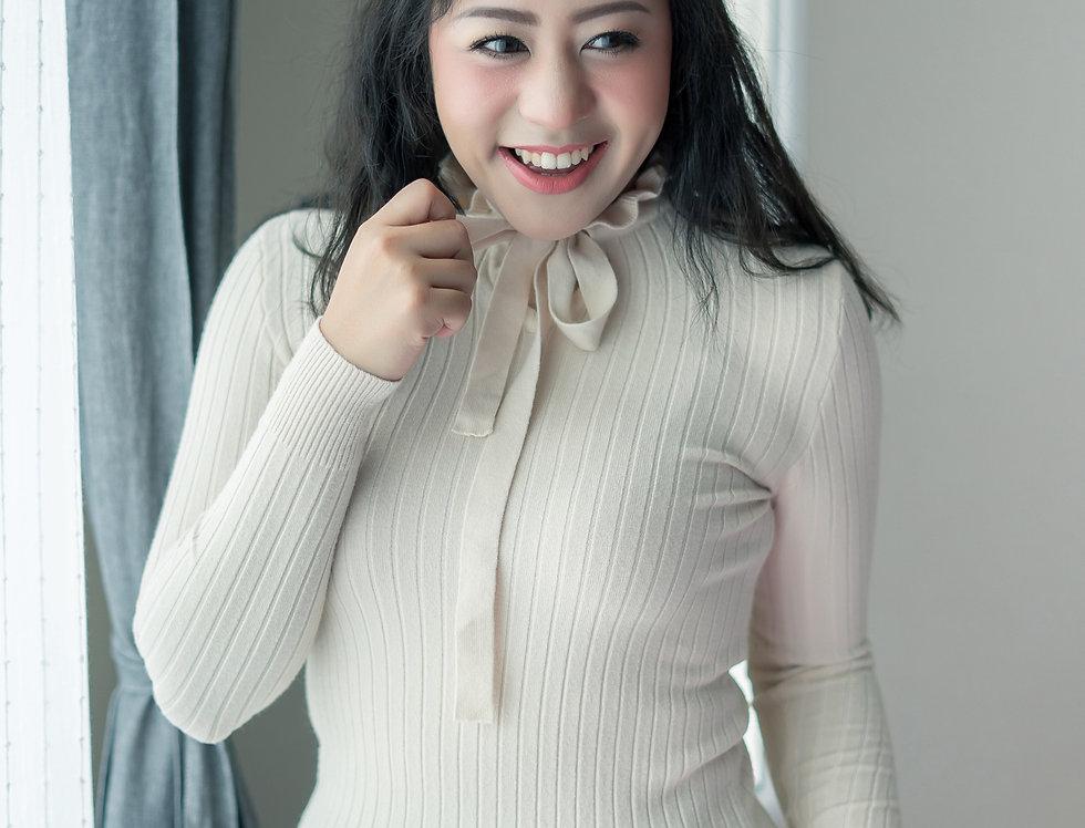 เช่าเสื้อไหมพรม ผู้หญิง JP025BE